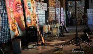 Sofar Sounds set up at Collective Arts