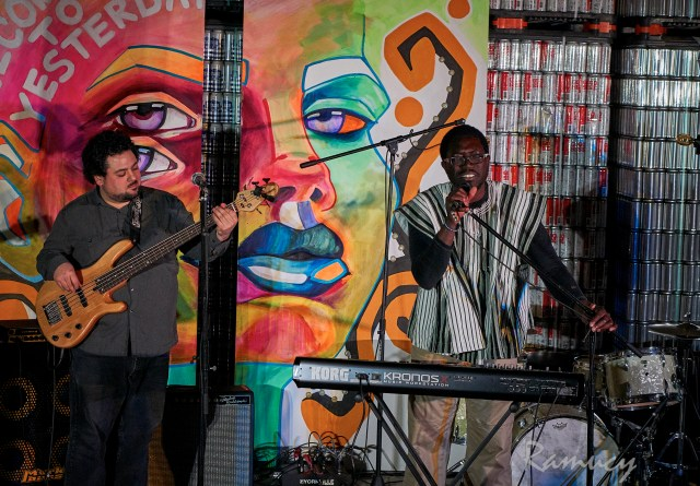 "Kojo ""Easy"" Damptey performing at Sofar Sounds"