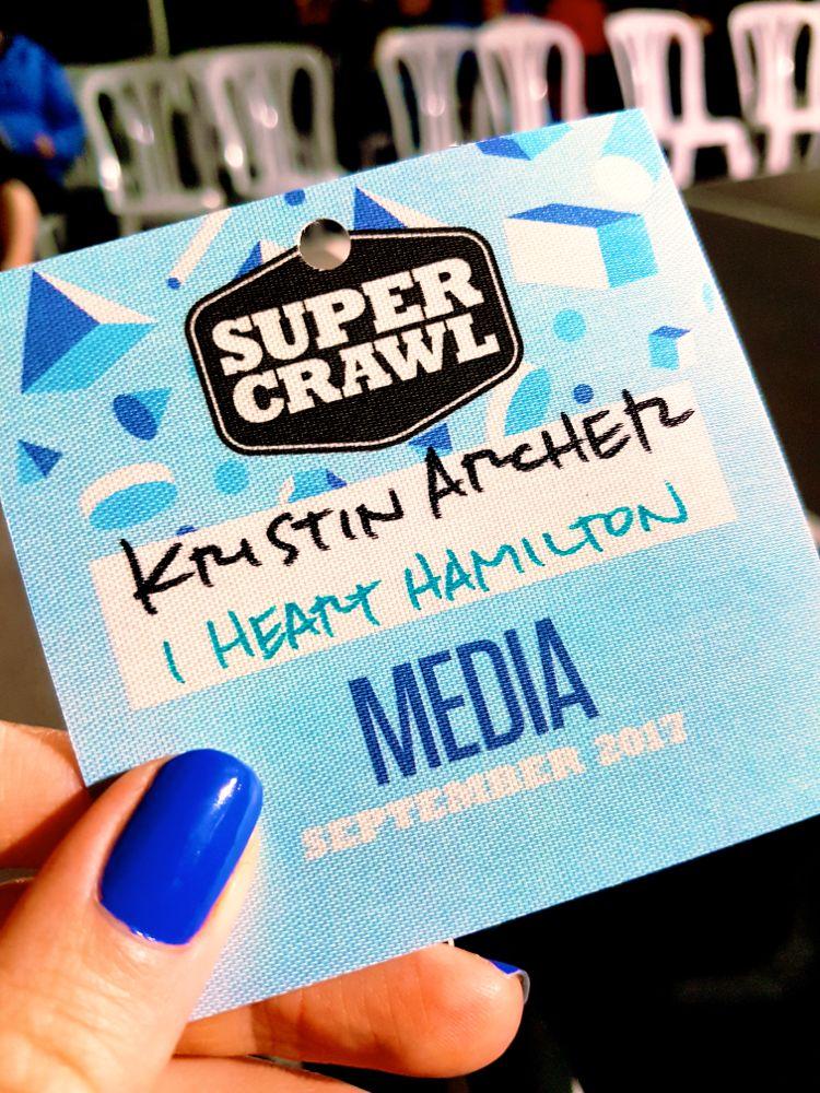 Kristin Archer. Supercrawl 2017