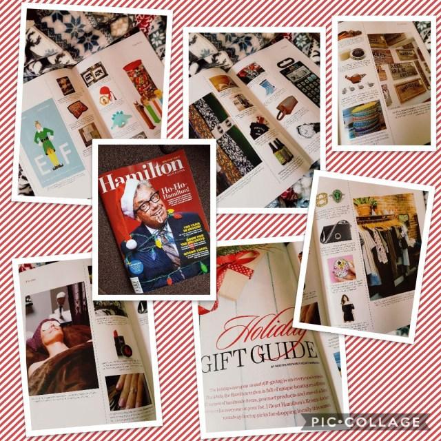 Hamilton Magazine Holiday Gift Guide 2017