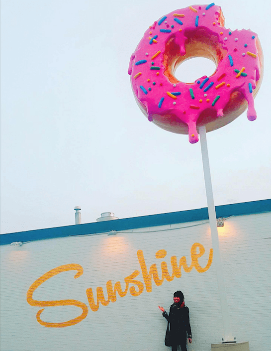 Sunshine Doughnuts, Burlington. Photo by Luisa Falletta-Caravasso