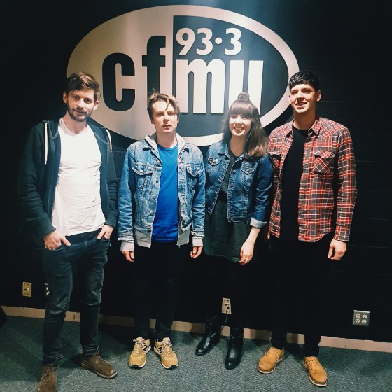 Kristin Archer with Aestrid at 93.3 CFMU
