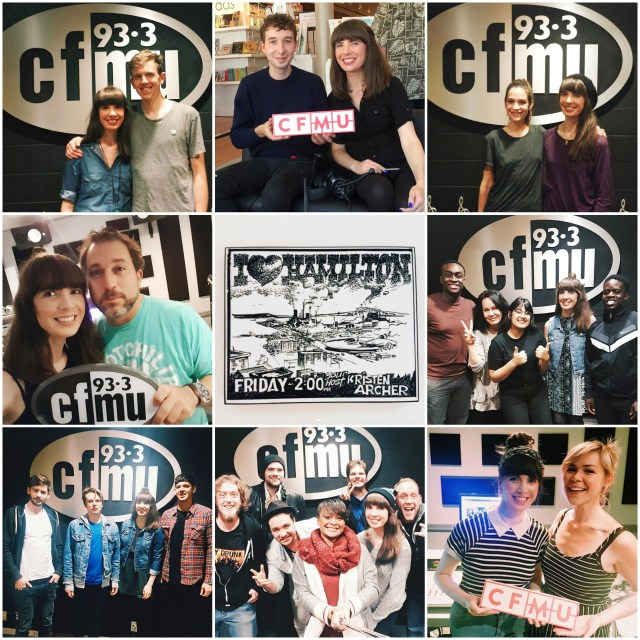 I Heart Hamilton on 93.3 CFMU memories