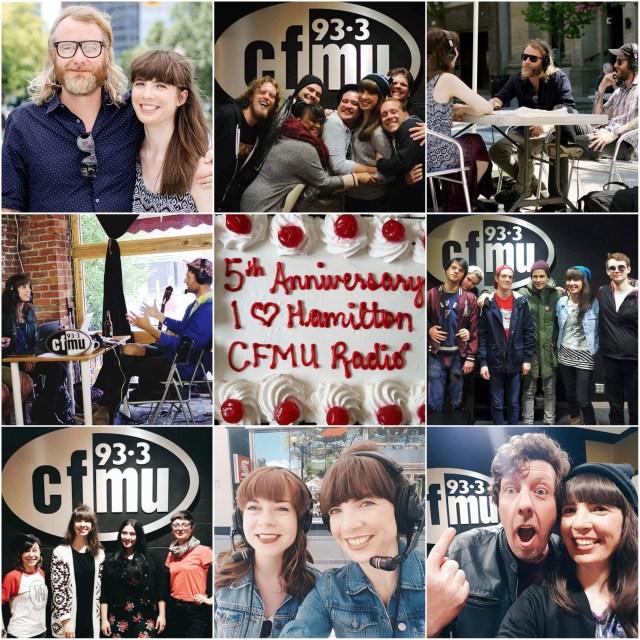I Heart Hamilton on 93.3 CFMU memories
