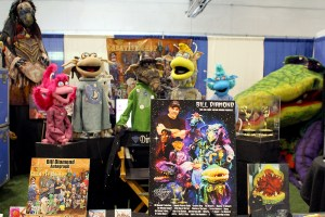 Bill diamond productions at the Hudson Valley Comic Con 2019