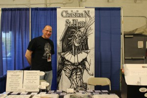 Christian_St_Pierre at the Hudson Valley Comic Con 2019