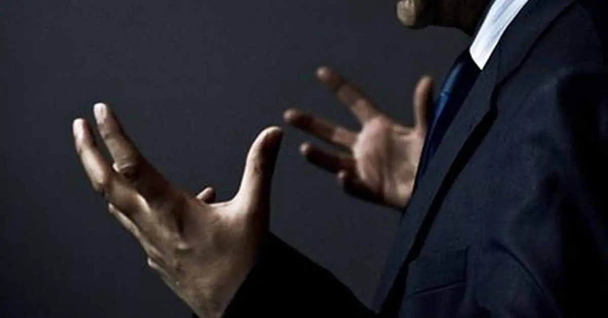 6 hand gestures for