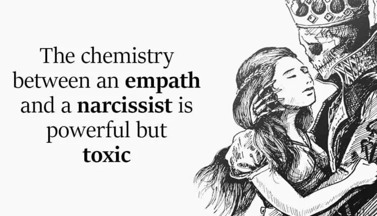 The Chemistry Between an Empath and a Narcissist Is