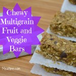 Chewy Multigrain Fruit and Veggie Bars