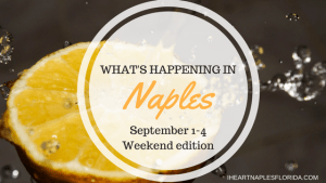 Naples events September 1-4