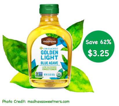 coupon for agave nectar