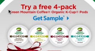 Green Mountain Organics K-Cup Pod