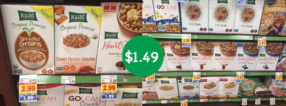 Kashi Organic Promise Cereal coupon deal