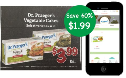 Dr. Praeger's Vegetable Cakes Coupon Deal