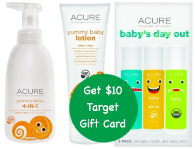 Acure Baby Items