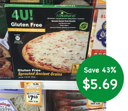 Better4U! Gluten Free Pizza Coupon Deal