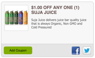 Suja Essentials Organic Juice Coupon