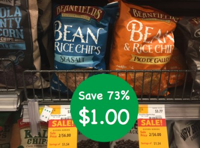 Beanfields Rice and Chips Coupon Deal