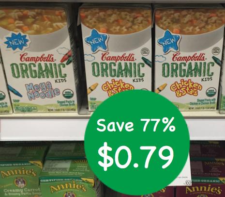 Campbell's Organic Soup Coupon Deal