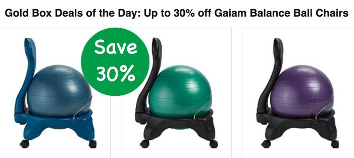 Gaiam Balance Ball Chairs