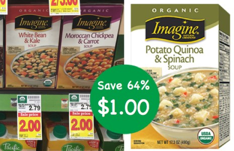 Imagine Organic Chunky Style Soups Coupon Deal