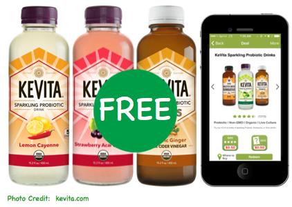 FREE KeVita Organic Probiotic Drink