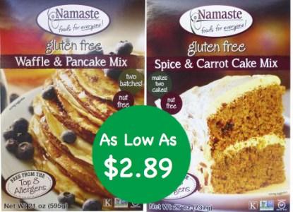Namaste Gluten Free Baking Mixes Coupon Deal