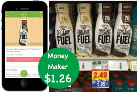 Organic Valley Milk Protein Recovery Shake Coupon Deal