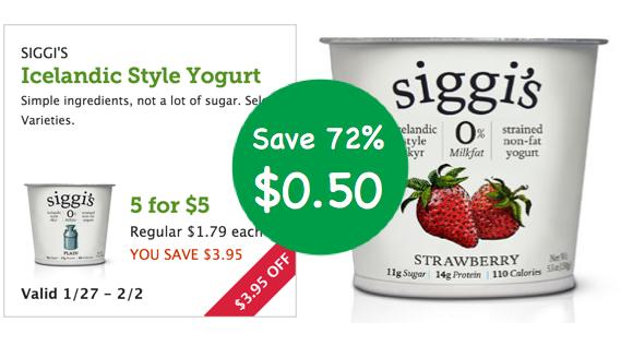 Siggi's Diary Yogurt