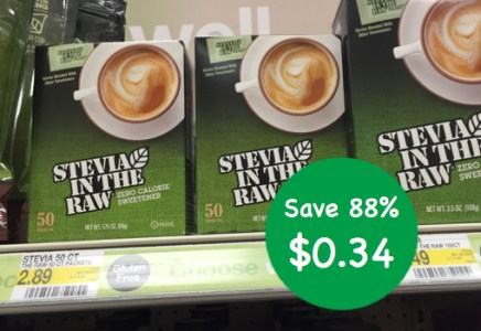 Target - Stevia in The Raw Coupon Deal
