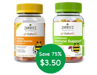 Zarbee's Natural Kids MultiVitamins Coupon Deal