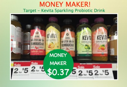 Kevita Sparkling Probiotic Drink Coupon Deal