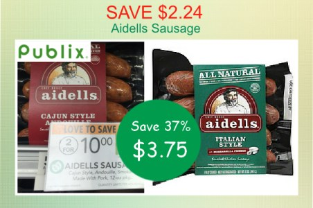 Aidells Sausage coupon deal