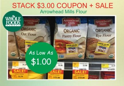 Arrowhead Mills Flour coupon deal