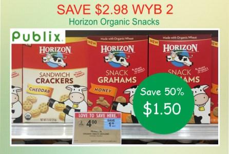 Horizon Organic Snacks coupon deal