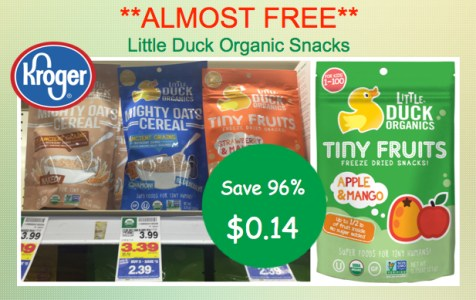 Little Duck Organic Snacks Coupon Deal