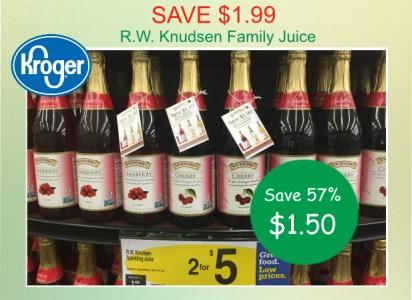 R.W. Knudsen Family Juice coupon deal