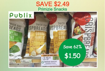 Primizie Snacks Coupon Deal
