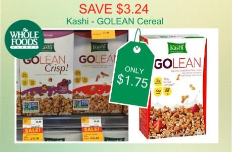 Kashi GOLEAN Cereal coupon deal