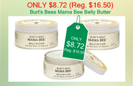 Burt's Bees Mama Bee Belly Butter coupon deal 2
