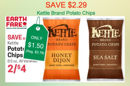Kettle Brand Potato Chips Coupon Deal
