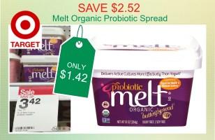 Melt Organic Probiotic Spread coupon deal