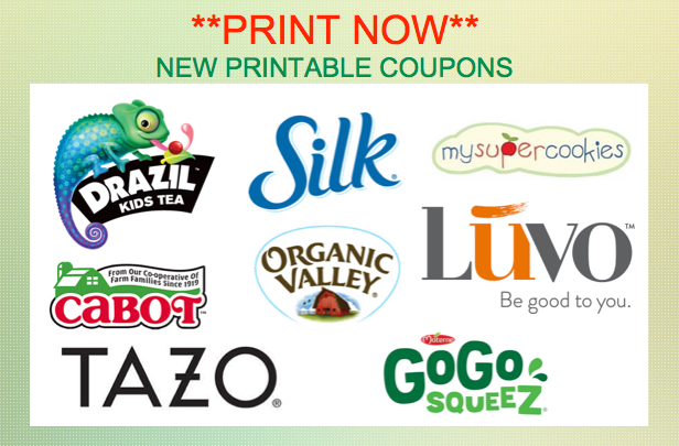 picture relating to Organic Valley Coupons Printable identify PRINT At present** Clean Discount coupons for Natural Valley, GoGo Squeez