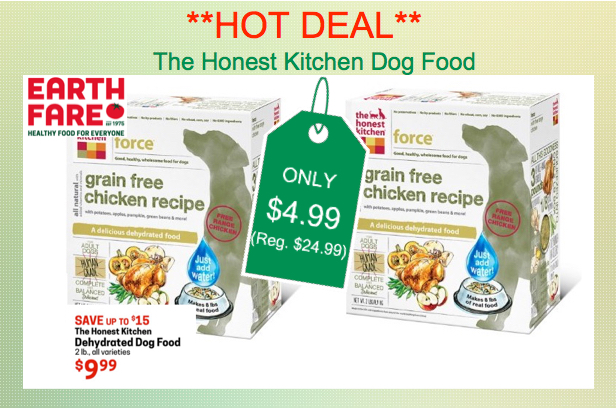 HOT DEAL Earth Fare The Honest Kitchen Dog Food For Reg - Honest kitchen dog food