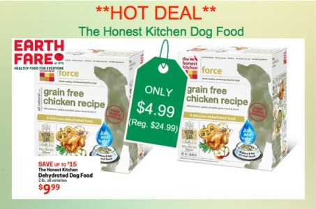 The Honest Kitchen Dog Food Coupon Deal