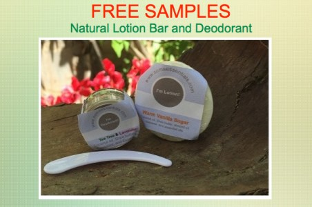 some essentials lotion bar and deodorant