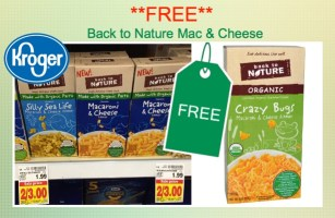 Back to Nature Mac and Cheese Coupon Deal