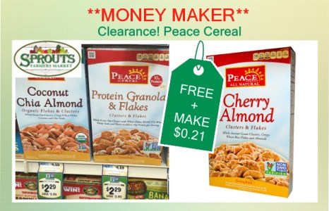 Clearance! Peace Cereal coupon deal 3