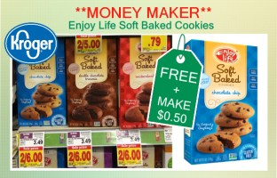 Enjoy Life Soft Baked Cookies coupo deal