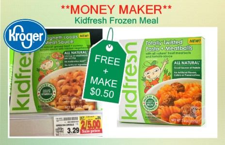 Kidfresh Frozen Meal coupon deal